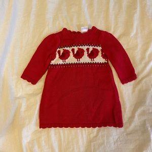 Infant Girl Gymboree Sweater Dress